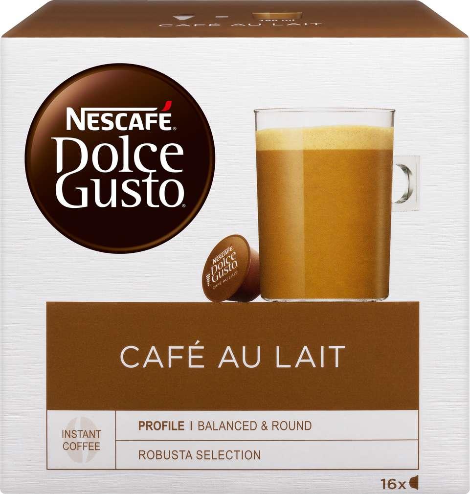 Abbildung des Sortimentsartikels Nescafé Dolce Gusto Café Au Lait 160g, 16 Kapseln
