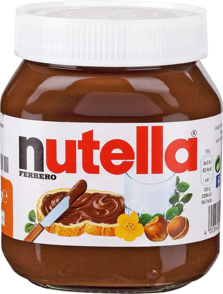 Abbildung des Sortimentsartikels Nutella 450g