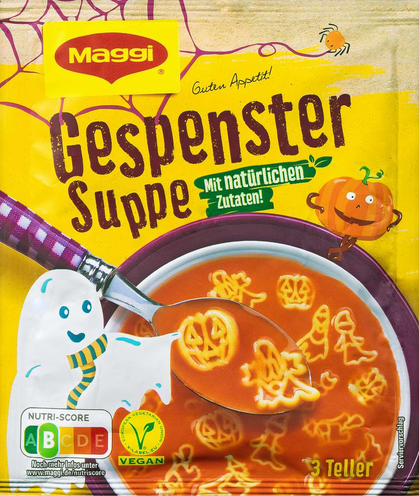Abbildung des Sortimentsartikels Maggi Guten Appetit Gespenster Suppe ergibt 750ml