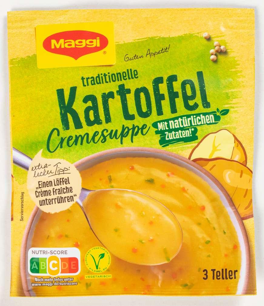 Abbildung des Sortimentsartikels Maggi Guten Appetit Suppe Kartoffelcreme ergibt 750ml
