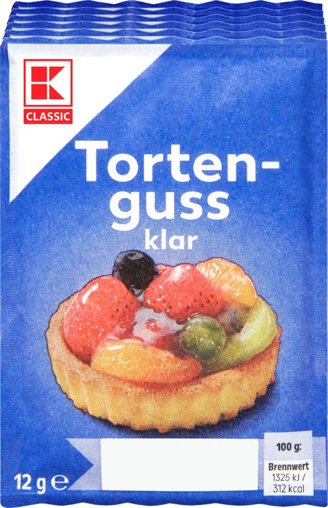 Abbildung des Sortimentsartikels K-Classic K-Classic Tortenguss klar 6er