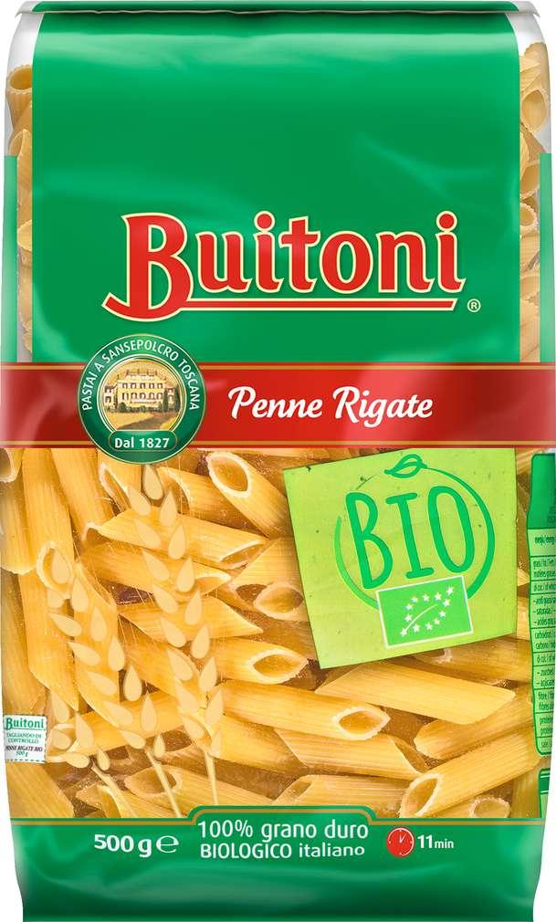 Abbildung des Sortimentsartikels Buitoni Bio Penne Rigate 500g