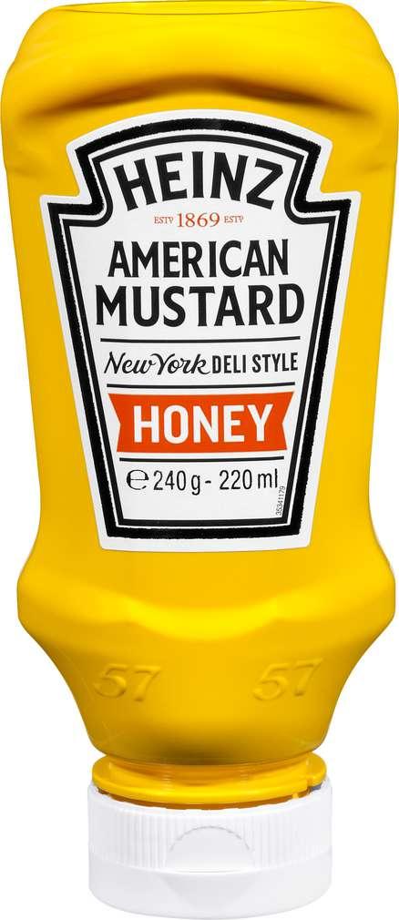 Abbildung des Sortimentsartikels Heinz American Mustard Honey 220ml