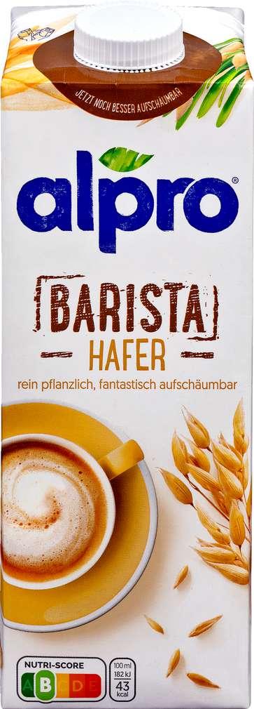 Abbildung des Sortimentsartikels Alpro Haferdrink Barista laktosefrei, vegan 1,0l