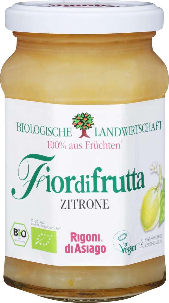 Abbildung des Sortimentsartikels Fiordifrutta Bio-Fruchtaufstrich Zitrone 260g