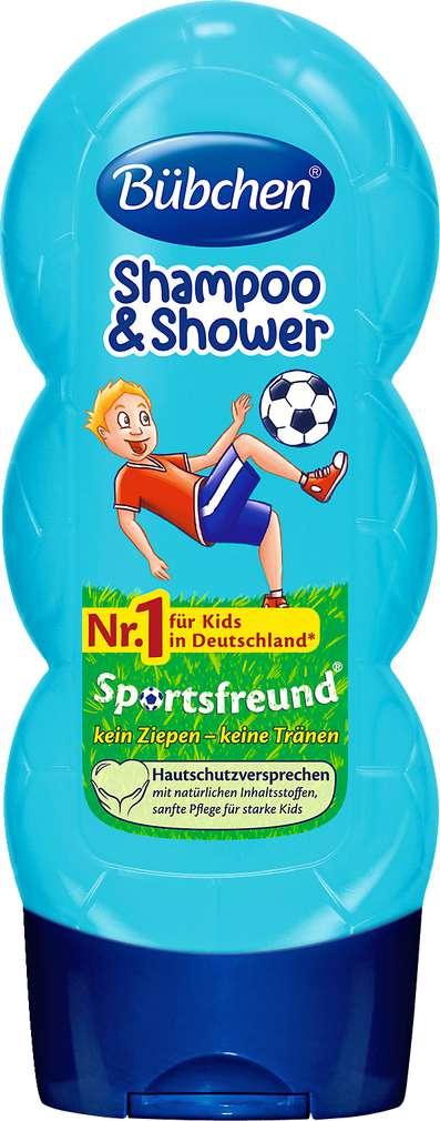 Abbildung des Sortimentsartikels Bübchen Shampoo & Shower Sportsfreund 230ml