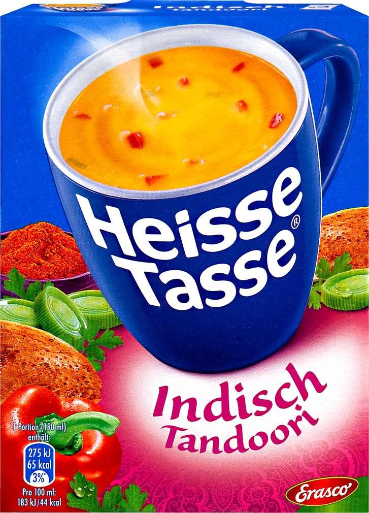 Abbildung des Sortimentsartikels Erasco Heiße Tasse Indisch Tandoori 3x14,5g