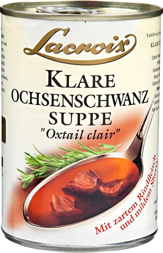 Abbildung des Sortimentsartikels Lacroix Klare Ochsenschwanzsuppe