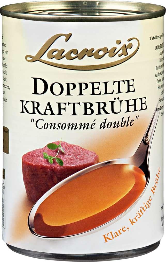 Abbildung des Sortimentsartikels Lacroix Doppelte Kraftbrühe 400ml