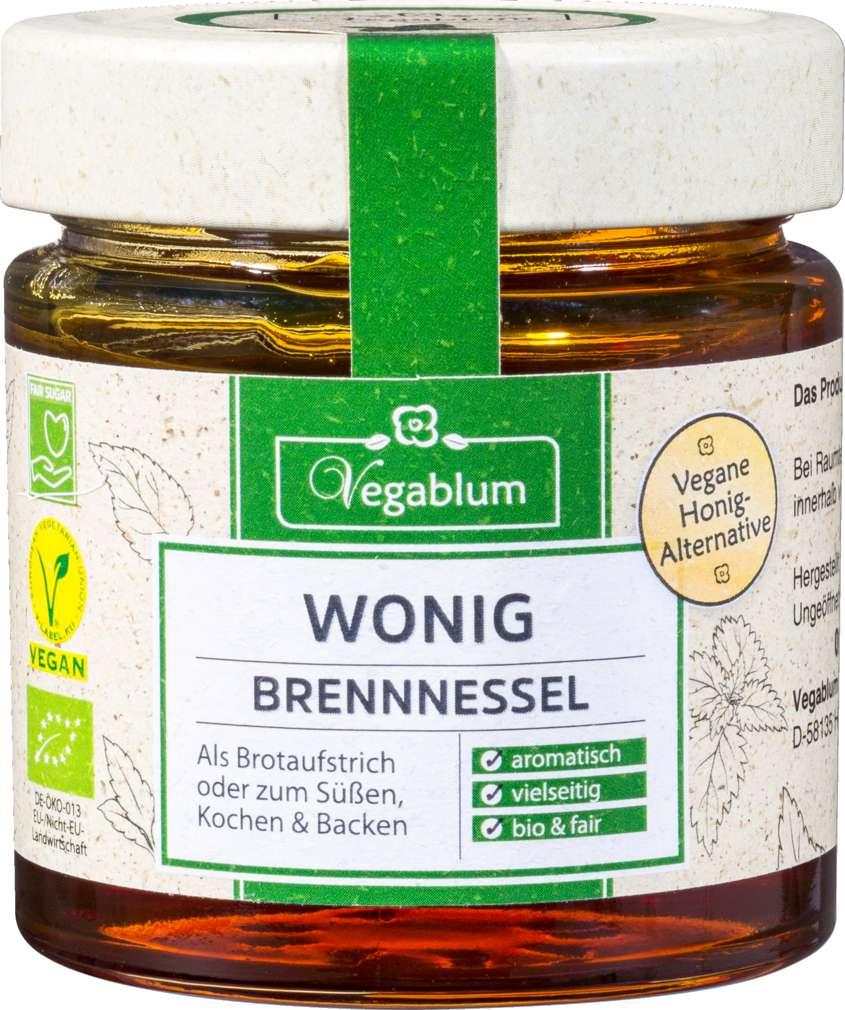 Abbildung des Sortimentsartikels Vegablum Vegane Wonig Brennnesel Honig-Alternativ 225g