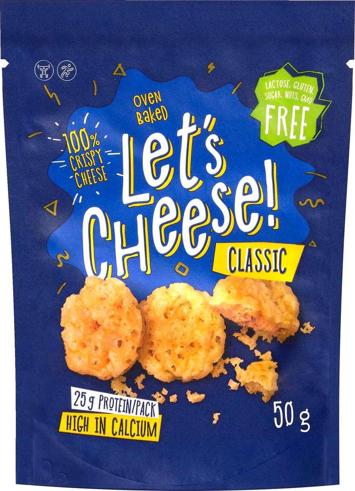 Abbildung des Sortimentsartikels Felföldi Let's Cheese Classic 50g