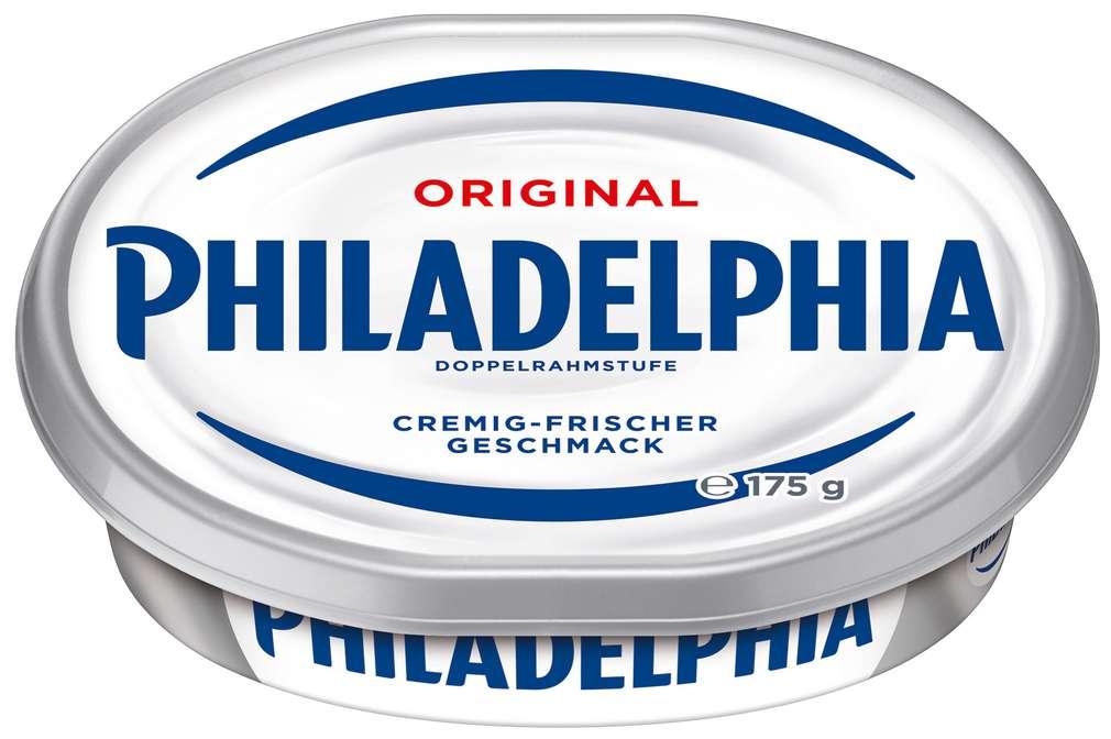 Abbildung des Sortimentsartikels Philadelphia Doppelrahmstufe 175g