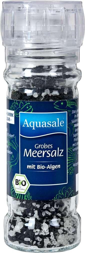 Abbildung des Sortimentsartikels Bad Reichenhaller Bio Aquasale Meersalz mit Bio-Algen 75g