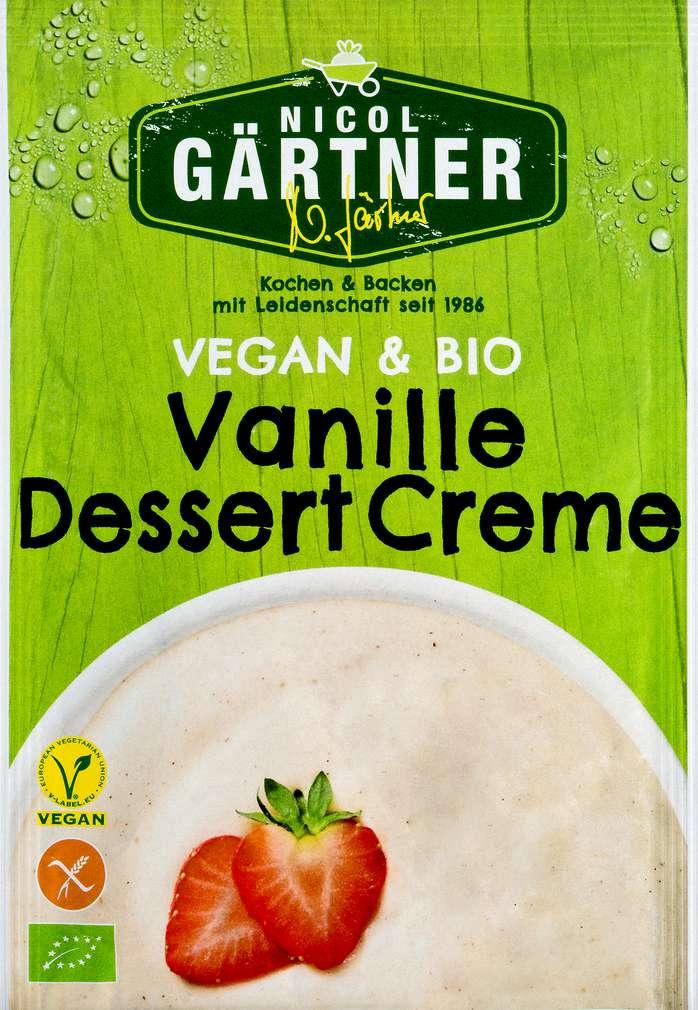 Abbildung des Sortimentsartikels Nicol Gärtner Bio-Vanille-Dessert-Creme ohne Kochen 52g
