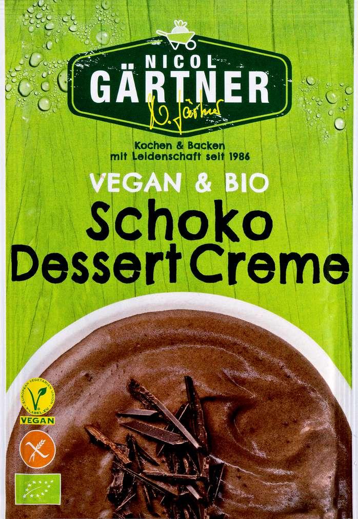 Abbildung des Sortimentsartikels Nicol Gärtner Bio-Schoko-Dessert-Creme ohne Kochen 68g