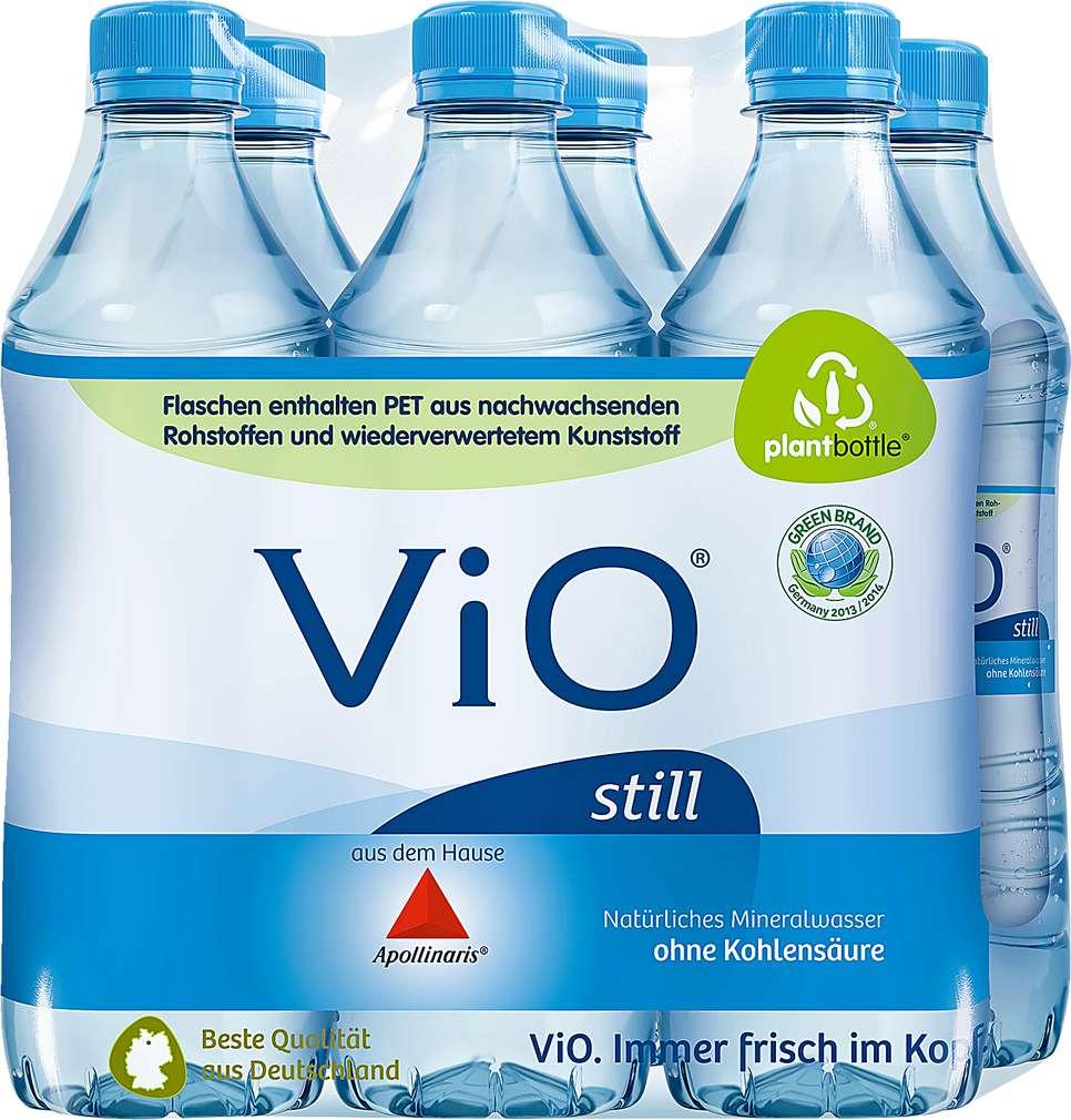 Abbildung des Sortimentsartikels Vio Natürliches Mineralwasser still 6x0,5l
