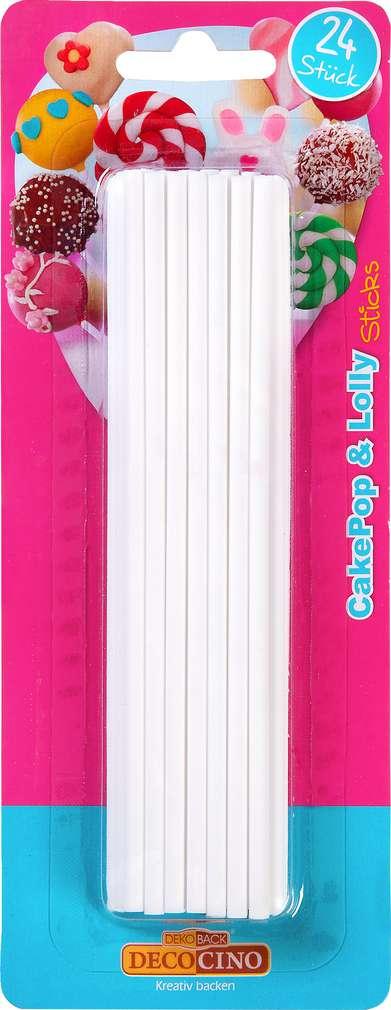 Abbildung des Sortimentsartikels Dekoback Stiele für CakePops und Lollies 24 Stück
