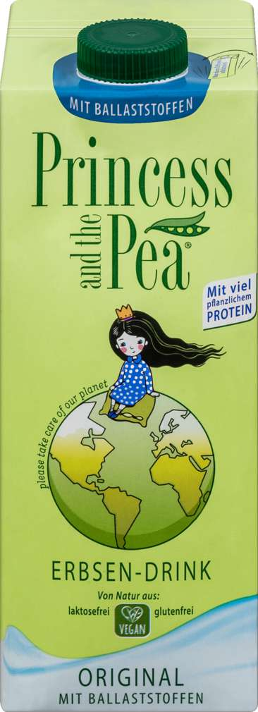 Abbildung des Sortimentsartikels Princess and the Pea mit Ballaststoffen vegan 1,0l