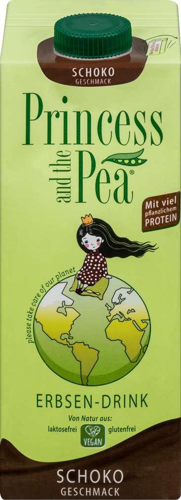 Abbildung des Sortimentsartikels Princess and the Pea Schoko Geschmack vegan 1,0l