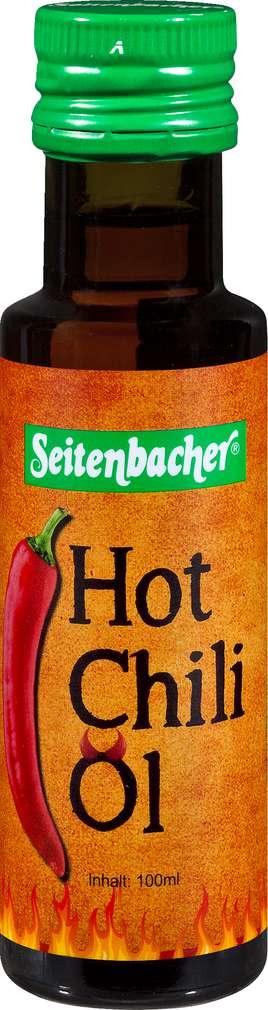 Abbildung des Sortimentsartikels Seitenbacher Bio-Hot Chili-Öl 100ml