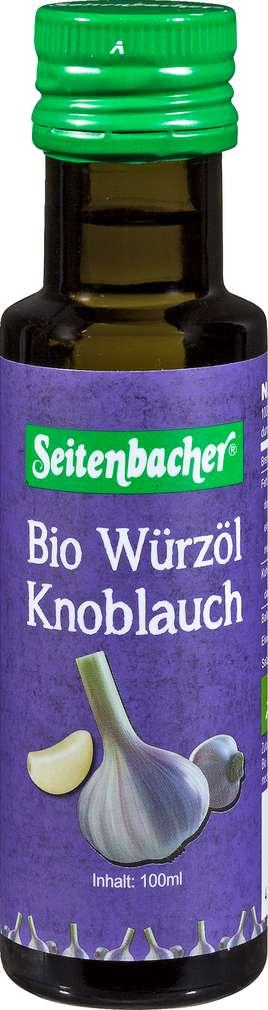 Abbildung des Sortimentsartikels Seitenbacher Bio-Würzöl Knoblauch 100ml