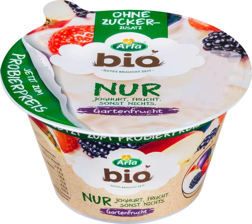Abbildung des Sortimentsartikels Arla Bio Nur Joghurt Rote Früchte 150g