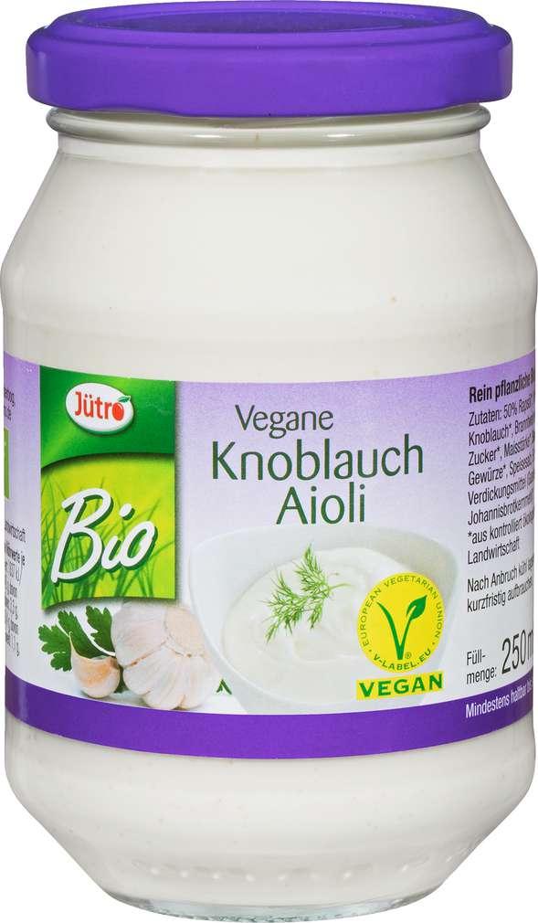 Abbildung des Sortimentsartikels Jütro Bio-Aioli vegan 250ml