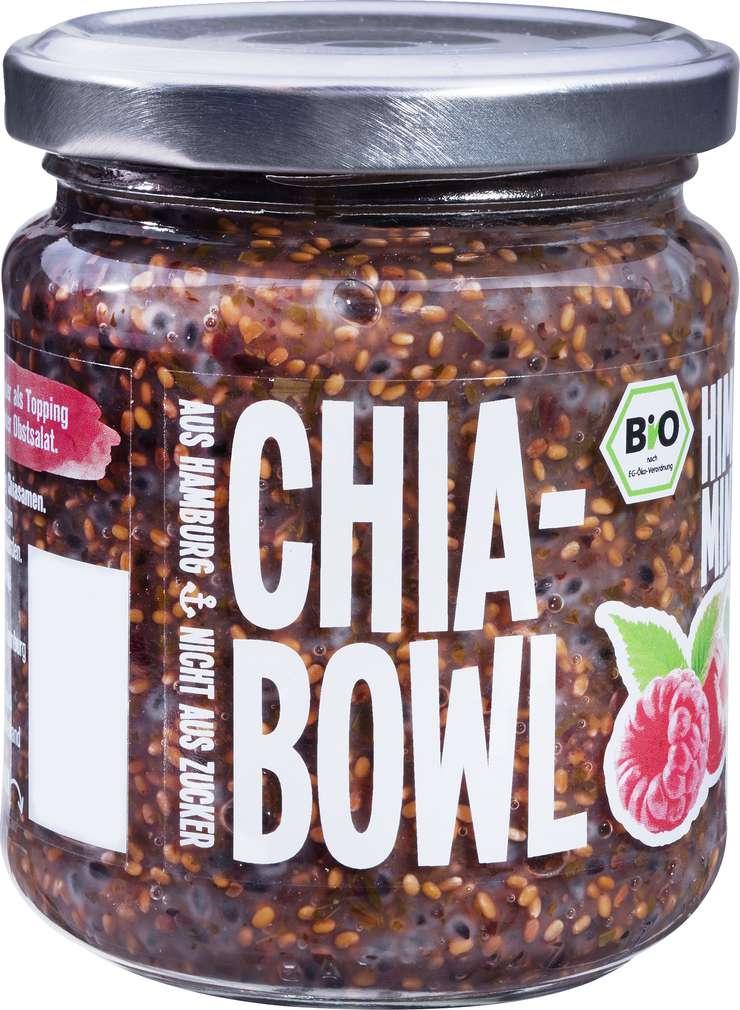 Abbildung des Sortimentsartikels Mega Lecka Bio Chia Bowl Himbeere-Minze 200g