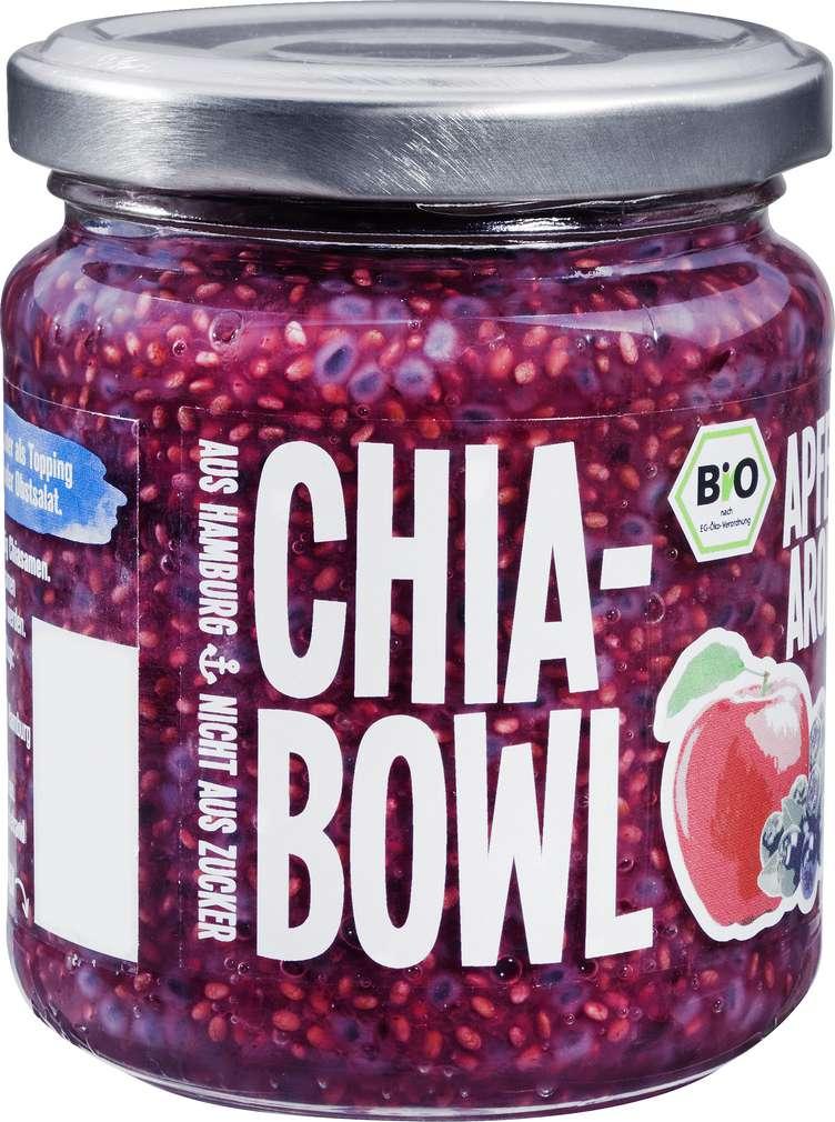 Abbildung des Sortimentsartikels Mega Lecka Bio Chia Bowl Apfel-Aronia 200g