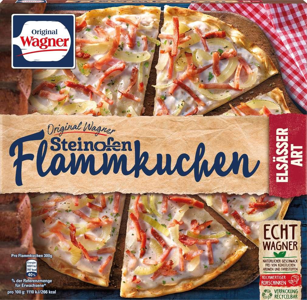 Abbildung des Sortimentsartikels Wagner Original Flammkuchen Elsässer Art 300g