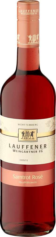 Abbildung des Sortimentsartikels Lauffener Weingärtner Samtrot Rosé 0,75l