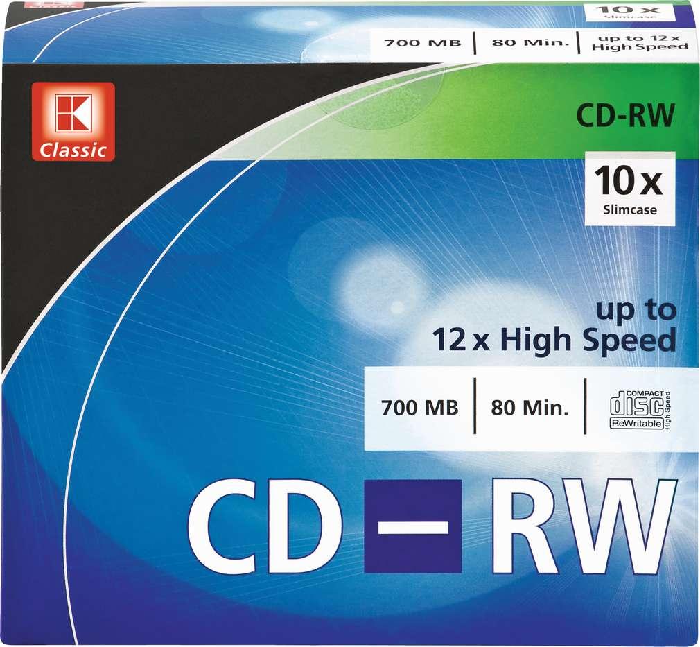 Abbildung des Sortimentsartikels K-Classic 10 x CD-RW 700 MB