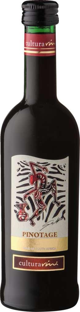 Abbildung des Sortimentsartikels Cultura Vini Pinotage Südafrika 250ml