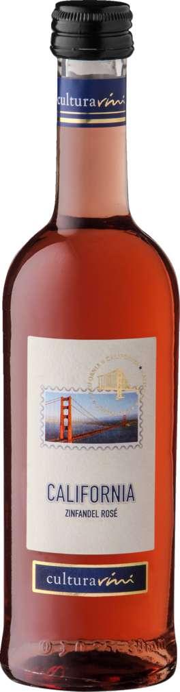 Abbildung des Sortimentsartikels Cultura Vini Zinfandel rosé Kalifornien 250ml