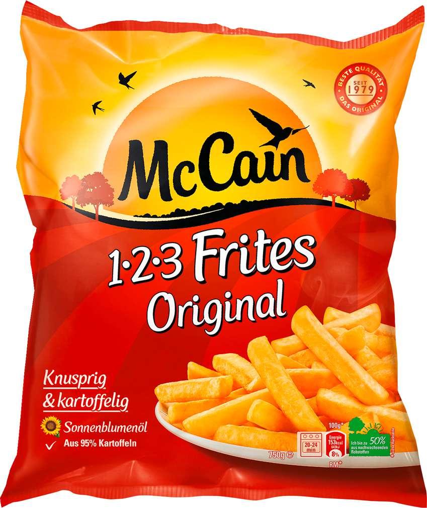 Abbildung des Sortimentsartikels Mc Cain Frites 1-2-3 Original 750g