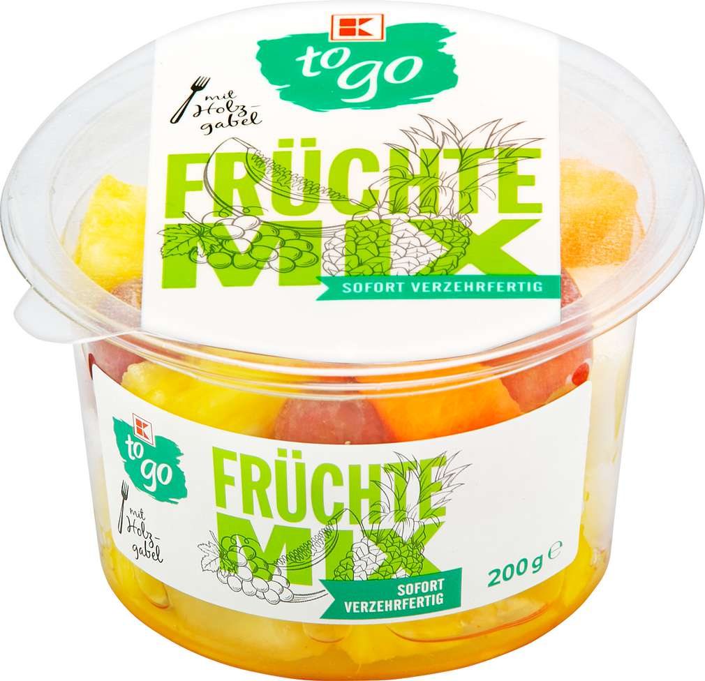 Abbildung des Sortimentsartikels K-To Go KTG Früchtemix 200g