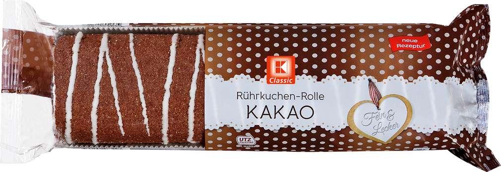 Abbildung des Sortimentsartikels K-Classic Rührkuchenrolle Kakao 400g