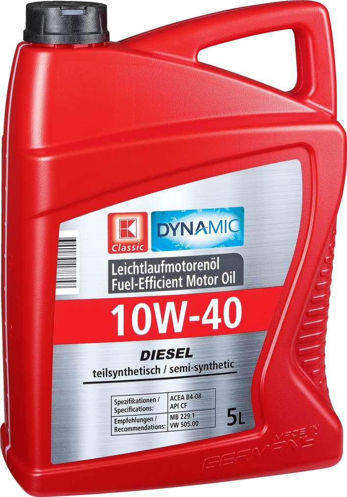 Abbildung des Sortimentsartikels K-Classic Diesel Motoröl 10W-40 5l