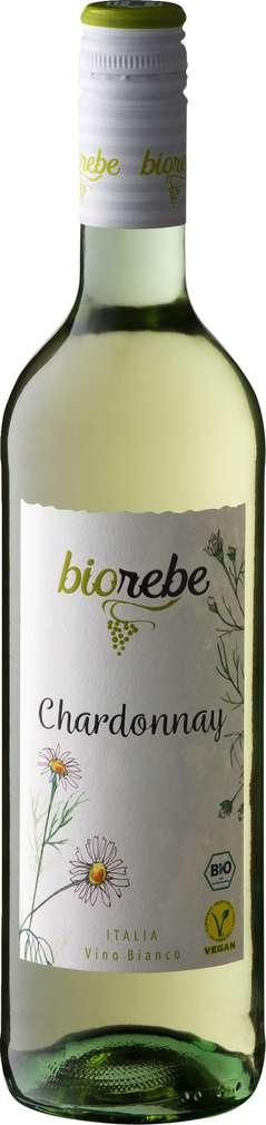 Abbildung des Sortimentsartikels Peter Mertes Biorebe Chardonnay Italien trocken 0,75l