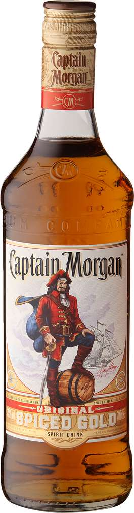 Abbildung des Sortimentsartikels Captain Morgan Original Spiced Gold 0,7l