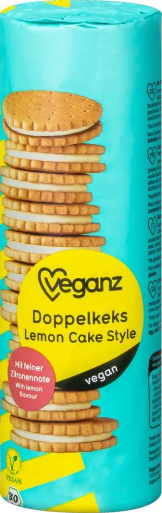 Abbildung des Sortimentsartikels Veganz Bio-Doppelkeks Lemon Style vegan 400g