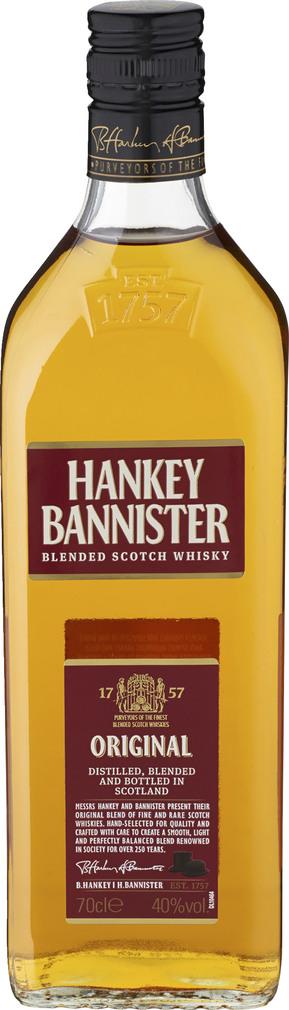Abbildung des Sortimentsartikels Hankey Bannister Blended Scotch Whisky 0,7l