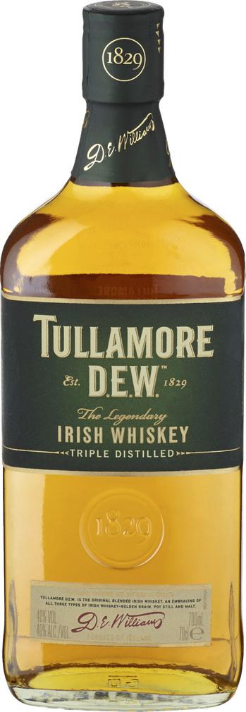 Abbildung des Sortimentsartikels Tullamore Dew Irish Whiskey 40%-Vol. 0,7l