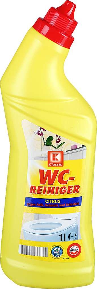 Abbildung des Sortimentsartikels K-Classic WC-Reiniger Citrus 1l