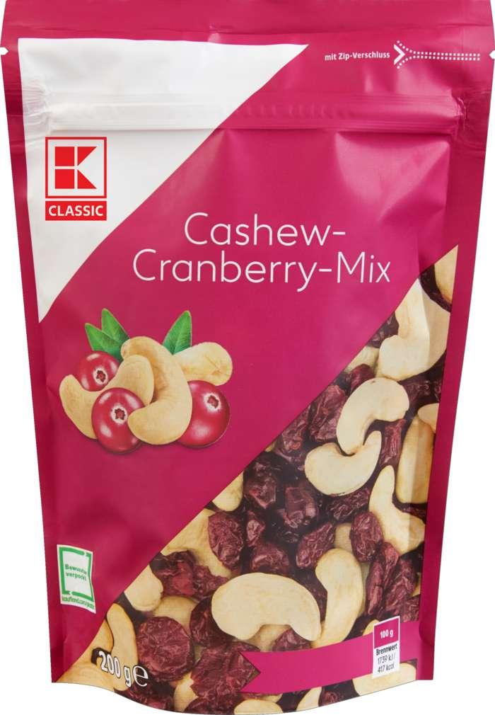 Abbildung des Sortimentsartikels K-Classic Cashew-Cranberry-Mix 200g
