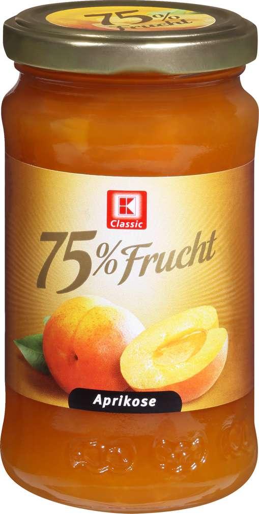 Abbildung des Sortimentsartikels K-Classic Fruchtaufstrich 75% Aprikose 250g