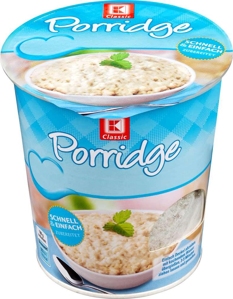 Abbildung des Sortimentsartikels K-Classic Porridge Natur 65g