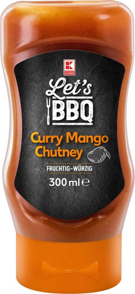 Abbildung des Sortimentsartikels K-Classic Curry Mango Chutney Quetschflasche 300ml