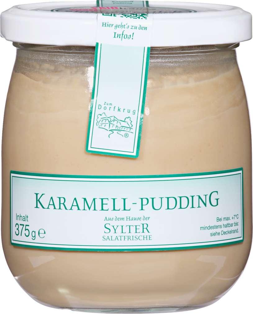 Abbildung des Sortimentsartikels Zum Dorfkrug Karamell-Pudding 375g