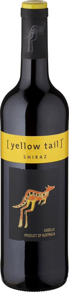 Abbildung des Sortimentsartikels Yellow Tail Shiraz 0,75l